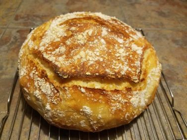 Expired5- Minute Homemade Bread